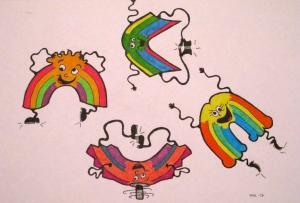 Silly Rainbows